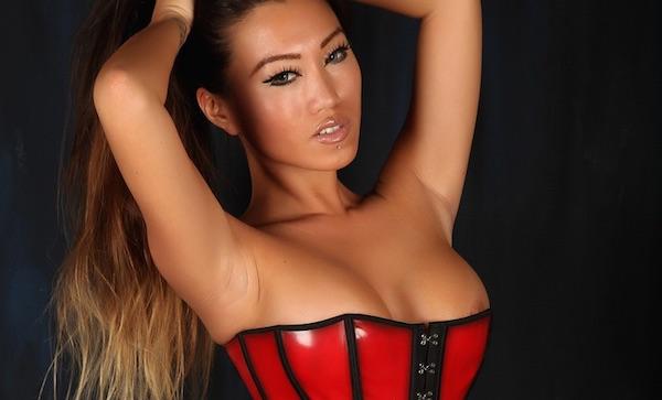 Jada Cheng - Red Corset